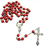 Westman Works Rosary Bulk Lot for Students or Church Groups with Wooden Beads, 10 Pack