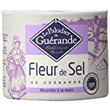 The French Farm Fleur de Sel de Guerande - French finest sea salt Le Paludier 4.4 oz by The French Farm