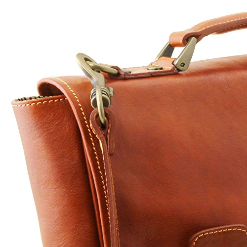 Tuscany Leather Tl141662 Borsa A Spalla Donna Beige Compact