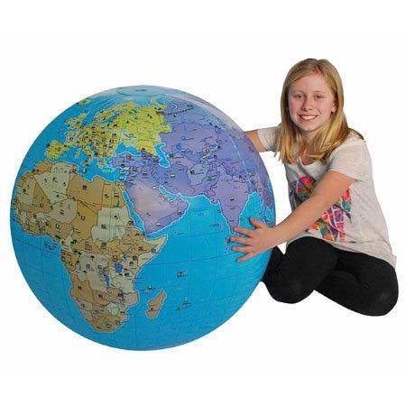 Tedco Xxl Inflatable Globe Ingenuity, Creativity, Analytical Skills -
