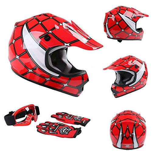 TCT-MT DOT Helmets wGoggles+Gloves