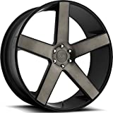 6 lug dub rims - DUB Baller 26 Black Flake Wheel / Rim 6x5.5 with a 31mm Offset and a 78.1 Hub Bore. Partnumber S116260077+31