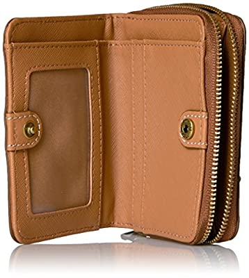 Fossil Emma Rfid Mini Multifunction-tan Wallet