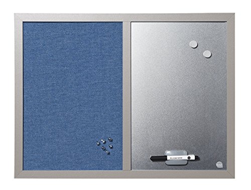 Bi-Office MX04429608 Pannello Blue Bells Combinato, 60x45, Perla Bi-Silque