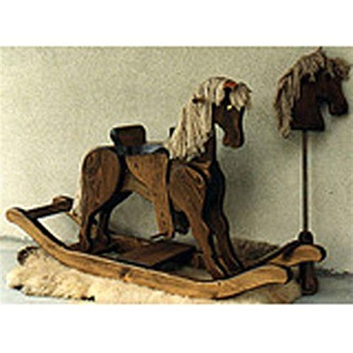 Woodworking Project Paper Plan to Build Rocking and Hobby Horse - Hobby Rocking Horse