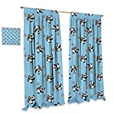 Best Div X Players - homefeel Soccer Window Curtain Drape Cute Panda Player Review