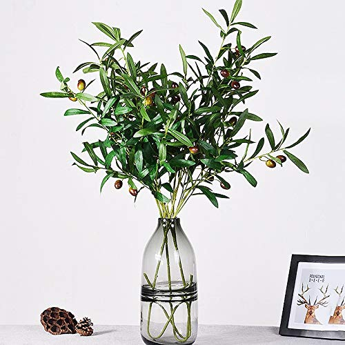 - 1Pcs Artificial Olive Branch Living Room Table Coffee Vase Flower Arrangement DIY Home Party Festival Equipment Stage