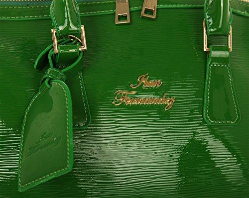 Ilan Fernandez, Borsa a mano donna verde verde