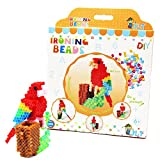 H&W 5mm 3-D Fuse Bead Kits, Solid Handwork Set, 3-D Parrot (WA10-Z1)