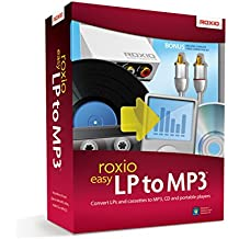 Roxio Easy LP to MP3 Audio Capture and Conversion Module and Software for PC