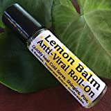 LEMON BALM Anti-Viral ROLL-ON! 10 ml, Quickly heal Cold Sores, Shingles, Chicken Pox, Rashes, Herpes, Molluscum, Bug Bites. Suppress future outbreaks. 100% Natural, Melissa, Tea Tree, Peppermint