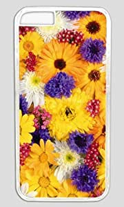 All Nice Flower For You DIY Hard Shell Transparent Best Designed iphone 6 plus Case