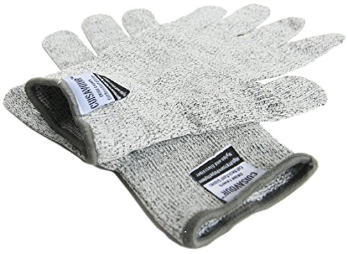Cuisavours Signature Slash & Cut Resistant Gloves - Level 5 Protection - 1 Pair