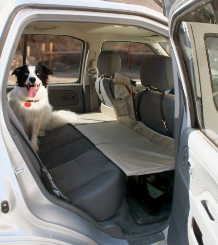 Kurgo Vehicle (Kurgo Backseat Reversible Dog Bridge Car Extender — Water Resistant — Universal Fit)
