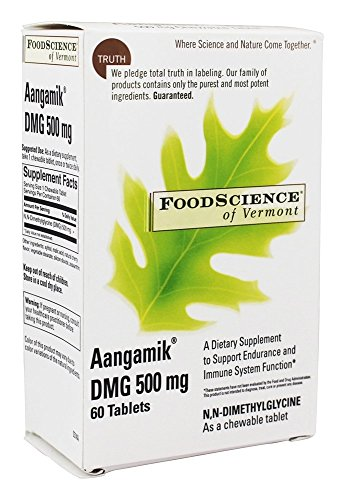 - Aangamik Dmg, 60 Chewable Tablets, 500 mg, From FoodScience