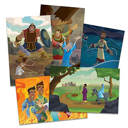 Vacation Bible School (VBS) 2020 Knights of North Castle Bible Story Poster Pak: Quest for the King's Armor