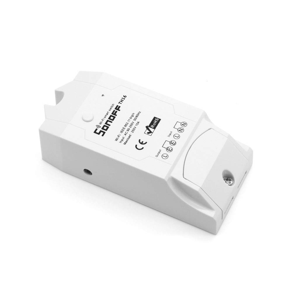 Freeshine Sonoff TH 16A Temperature And Humidity Monitoring WiFi Smart Switch Controller with timing function(Sonoff TH16)