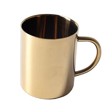 Edelstahl Bierkrug Tee Tasse Kaffeetasse Reise Wandern Becher Doppelwandig