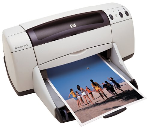- HP DeskJet 940C Color Printer