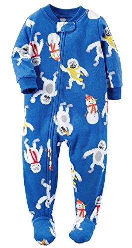 Carters Piece Footed Fleece Pajamas
