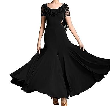 7af0c4795 Original Design Modern Dress Ballroom Dress Waltz Dress Cha Cha Dress Tango Dress  Black M