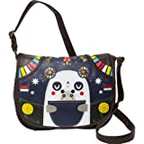 Crowded Teeth CTTB0021 Cross Body,Black/Brown/White/Red/Blue/Green,One Size, Bags Central