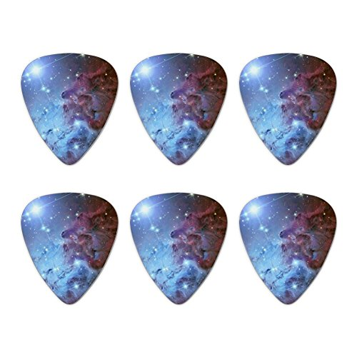 Fox Fur Nebula Monoceros Constellation Galaxy Novelty Guitar Picks Medium Gauge - Set of 6