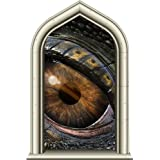 """24"""" Castle Scape Window Instant View Dragon's Eye #2 Wall Sticker Decal Graphic Mural Home Kids Game Room Office Art Decor"""