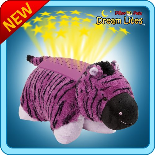 Pillow Pets Dream Lites Zany Zebra Pillow Pet