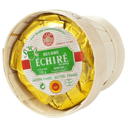 - Echire Butter In A Basket, Salted - 1 x 8.8 oz