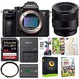 Sony a7RIII Full-Frame Mirrorless Camera w/ SEL50M28 FE 50mm F2.8 & 64GB Bundle