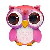 TEEGOMO Big Eye Owl Slow Rising Scented Jumbo Squishy...