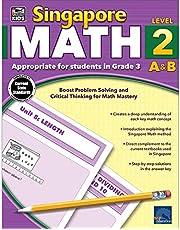 Singapore Math, Grade 3: Level 2 A&b