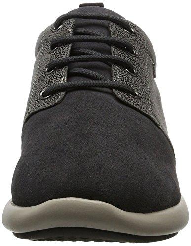 Geox D Ophira a, Zapatillas para Mujer Gris (Dk Grey)