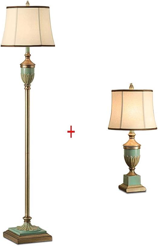 HLF- Lámpara de pie + lámpara de Mesa/Sala de Estar sofá ...