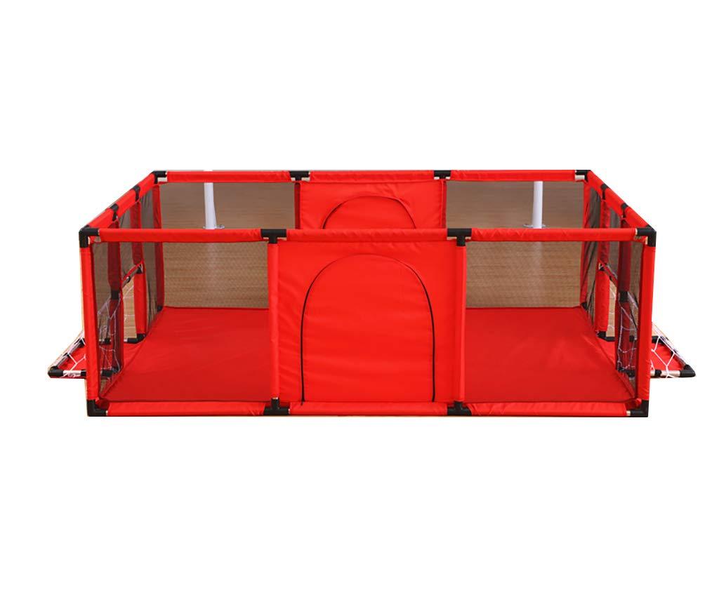 【在庫処分】 ZB ポータブル安全児童フェンスベビープレイペンター赤ちゃんと赤ちゃん通気性メッシュコンパクト屋内と屋外12パネルのベビーゲーム A+ (色 Red : Red, サイズ さいず : : : 120x100cm) 120x100cm Red B07KXVQ89K, 塩谷町:932976af --- a0267596.xsph.ru