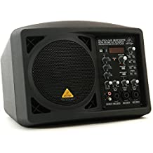 """Active 150-Watt 6.5"""" PA/Monitor Speaker System with MP3 Player"""