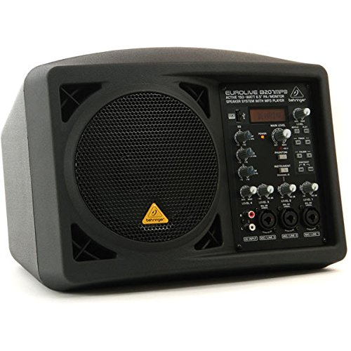 Personal Active Speaker System - BEHRINGER B207MP3 Active 150-Watt 6.5