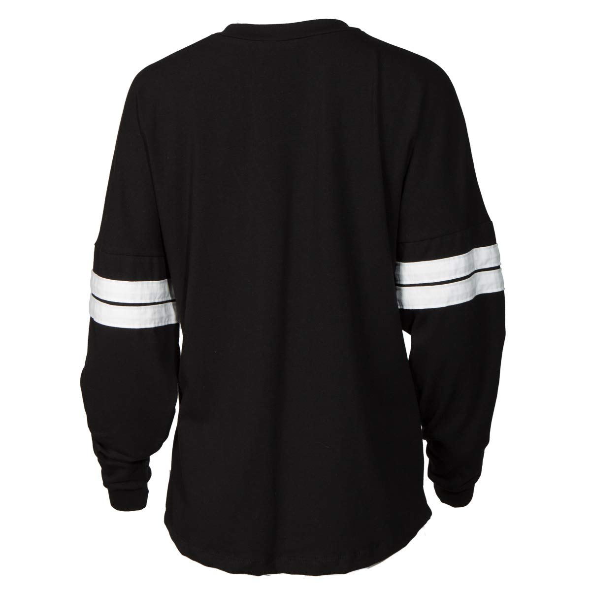 afadeb28fecf07 Amazon.com: Official NCAA UCF Knights Women's Striped Oversized Football  Tee: Clothing