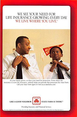 Print Ad 2003 State Farm Insurance See Your Need For Life Insurance Growing Every Day