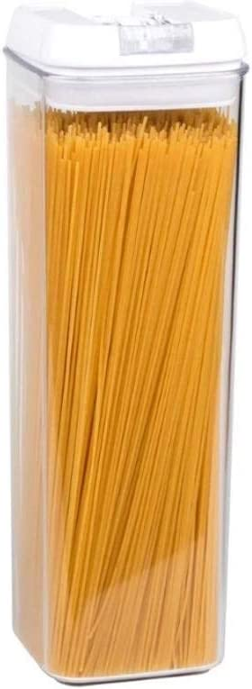 Gopren- Air -Tight, Food Storage Container For Spaghetti Noodle/Pasta And More - Crystal Clear see-thru Plastic - BPA Free,