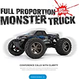 RC Car Toys for Kids Age 8 1 12 2.4Ghz 42km h 4WD Independent Suspension Off-Road Rally Car Radio Controlled Off-Road RC High Speed Off-Road Car for Children Christmas Best RC Car Gift (Blue)