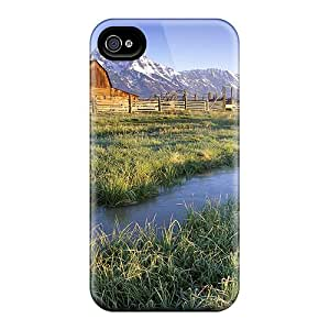 Awesome Lonely Farm Flip Cases With Fashion Design For Iphone 6