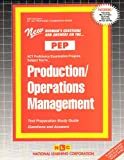 Production-Operations Management, Rudman, Jack, 0837355249