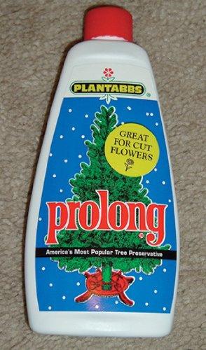 Christmas Tree Preservative.Prolong 1512 Plantabbs 8 Ounce Seasonal Tree Preservative White And Blue