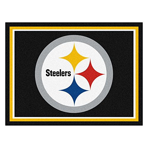 (FANMATS 17389 NFL Pittsburgh Steelers Rug)