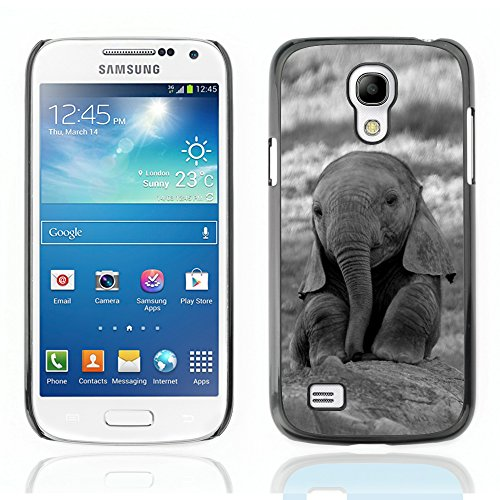 Graphic4You Cute Baby Elephant Animal Design Hard Case Cover for Samsung Galaxy S4 Mini (Samsung Galaxy S4 Mini Cute Case compare prices)