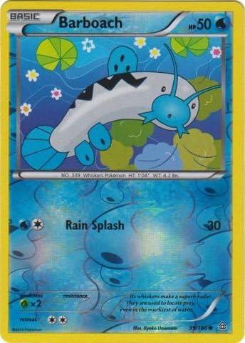 POKEMON CARDS XY PRIMAL CLASH BARBOACH 39//160 REV HOLO