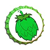 Beer Bottle Crown Caps - Oxygen Absorbing for Homebrew (Hop Cone)