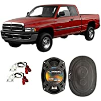Fits Dodge Ram Truck 1500 1994-2001 Front Door Factory Replacement Harmony HA-R69 Speakers